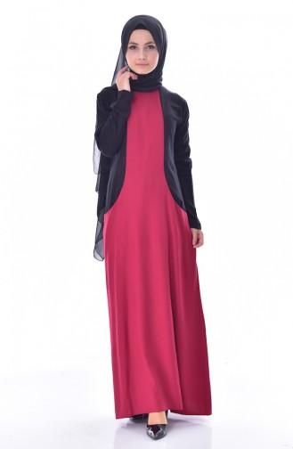 Garnili Cepli Elbise 4470-05 Bordo 4470-05