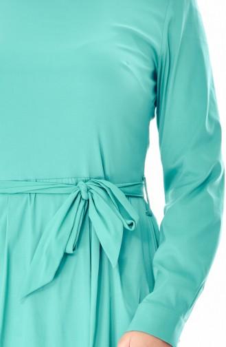Robe a Ceinture 60002-07 Vert Clair 60002-07
