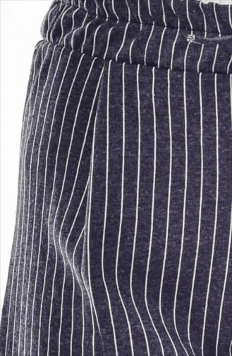 Striped Pants 1329-04 Antrasit 1329-04