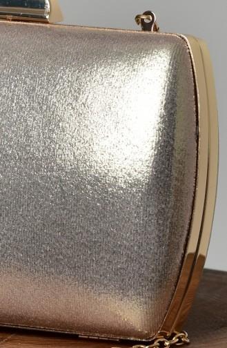 Goldfarbig Portfolio Handtasche 0276-06