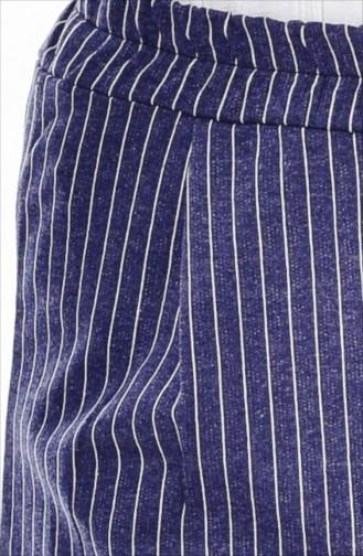 Striped Pants 1329-05 Indigo 1329-05