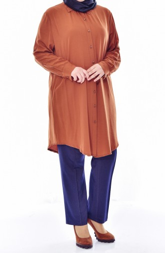 Large Size Buttoned Tunic 2000-06 Taba 2000-06
