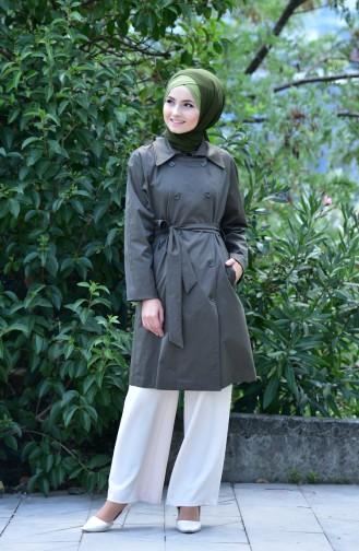 Khaki Trench Coats Models 90001-03