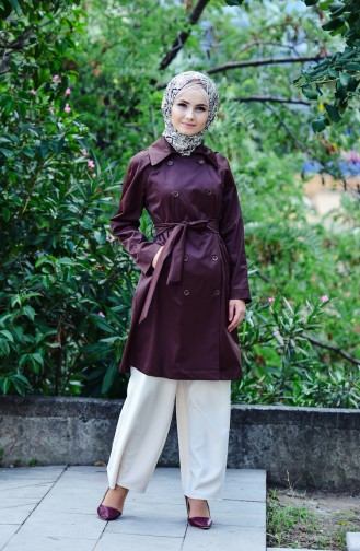Brown Trench Coats Models 90001-02