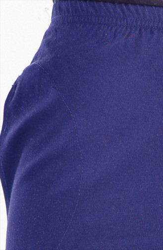 Pocketed Pants 24539-01 Navy Blue 24539-01