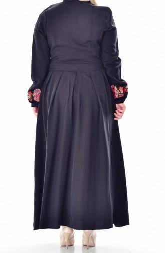 Robe Hijab Noir 2019-04