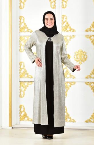 Gold İslamitische Avondjurk 1060-03