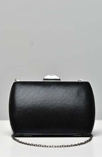 Schwarz Portfolio Handtasche 0276-04