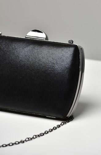 Black Portfolio Hand Bag 0276-04