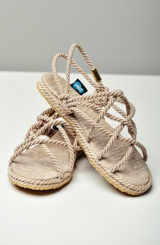 Stone Summer Sandals 0105-02