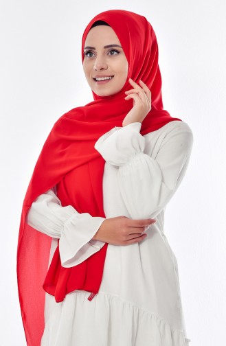 Luxury Crepe Shawl 50051-42 Red 42