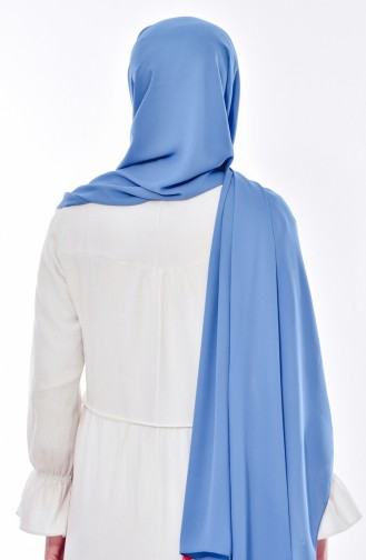 XL Krep Şal 50051-54 Kot Mavi 54