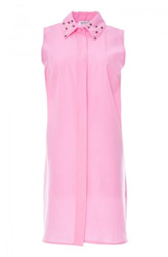 Pearl Sleeveless Shirt 8060B-03 Pink 8060B-03