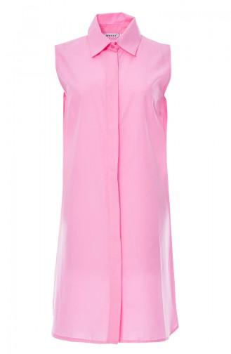 Sleeveless Shirt 8060E-03 Pink 8060E-03
