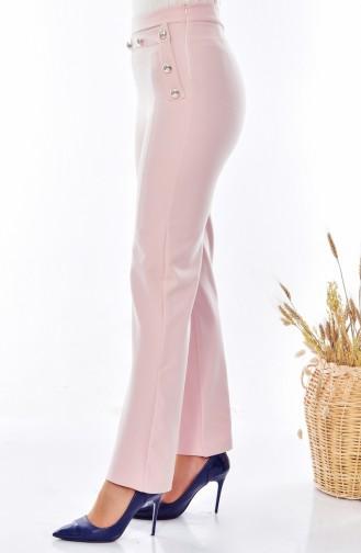 Pantalon Simple 1614-06 Poudre 1614-06