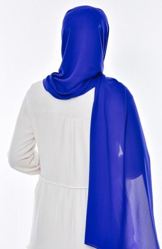 Lüx Châle Crêpe 50051-04 Bleu Roi 04