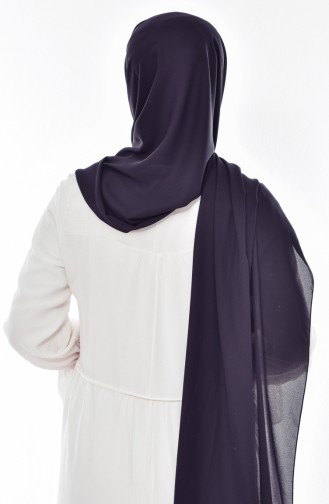 Lüx Krep Şal 50051-01 Siyah