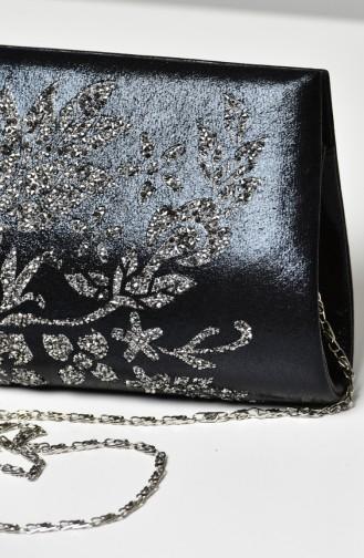 Black Portfolio Hand Bag 0322-04