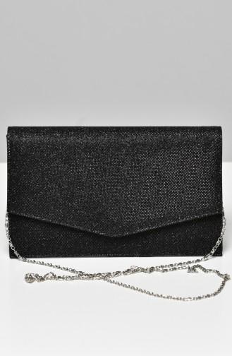 Black Portfolio Hand Bag 0460-01