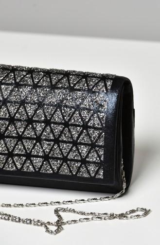 Black Portfolio Hand Bag 0333-04