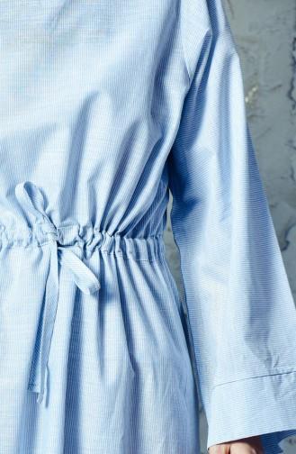 Robe Sport Taille Plissée 4401-04 Bleu 4401-04