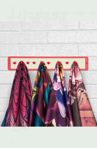 Shawl and Scarf Hanger وردي 0003