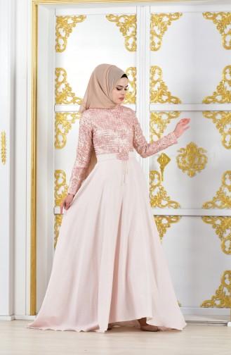 Habillé Hijab Poudre 11185-01