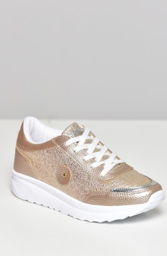 Gold Sport Shoes 0755-10