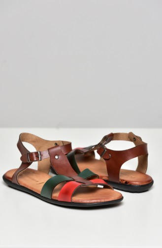 Red Summer Sandals 50252-04