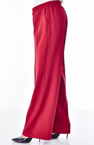 Claret red Broek 3103-08