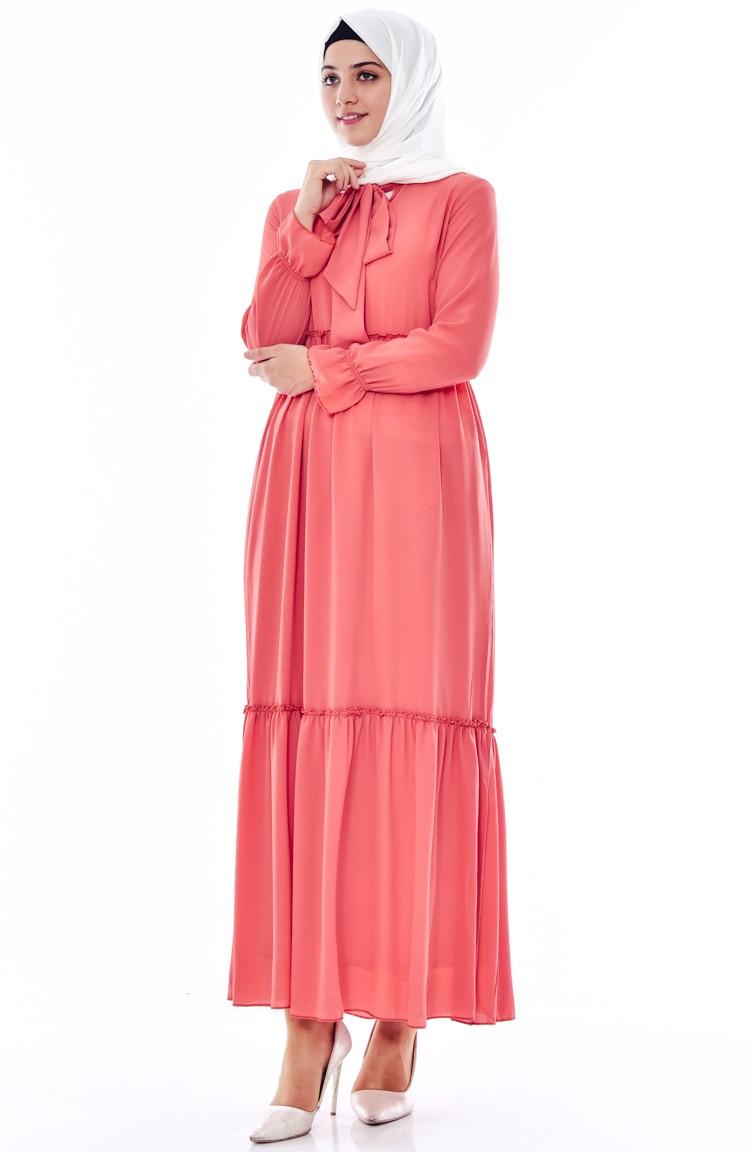 beige rose hijap kleider 4914 12. Black Bedroom Furniture Sets. Home Design Ideas