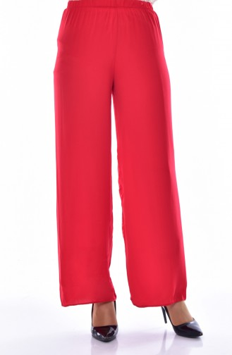 Straight Pants 1003-02 Red 1003-02