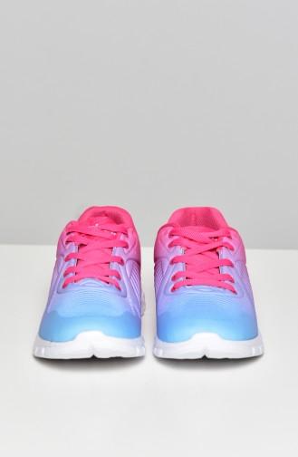 Navy Blue Sport Shoes 50271-01