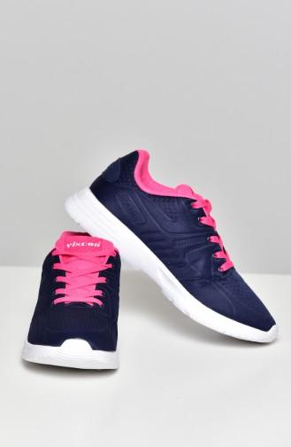 Navy Blue Sport Shoes 50271 03