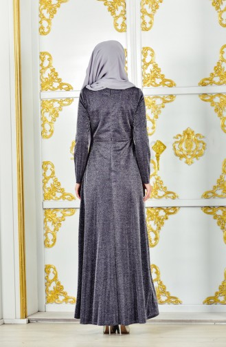 Lace Evening Dress 1272-02 Navy 1272-02