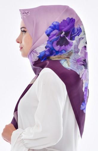 Purple Hoofddoek 05
