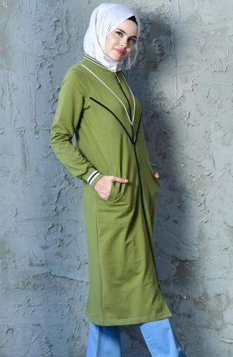 Oil Green Mantel 8206-05