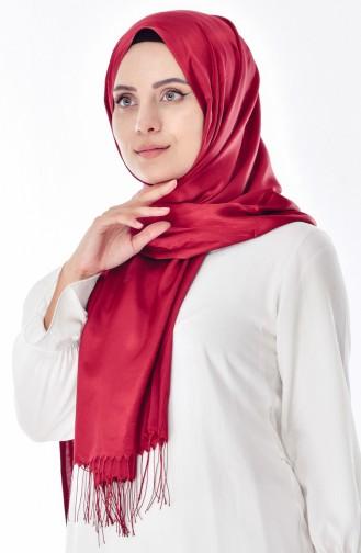 Sarar Takinli Şal 1105-01 Bordo 1105-01
