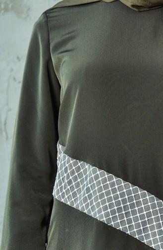 Tunik Pantolon İkili Takım 6131-02 Haki 6131-02