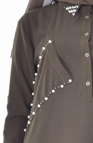 Pearl Tunic 3126-02 Khaki 3126-02