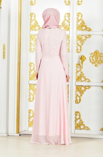 Pearl Evening Dress 3134-01 Powder 3134-01