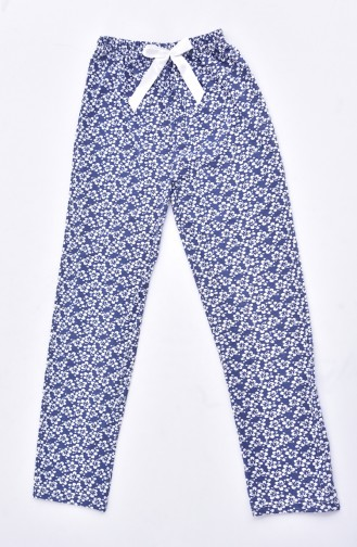 Navy Blue Pyjama 1401D-02