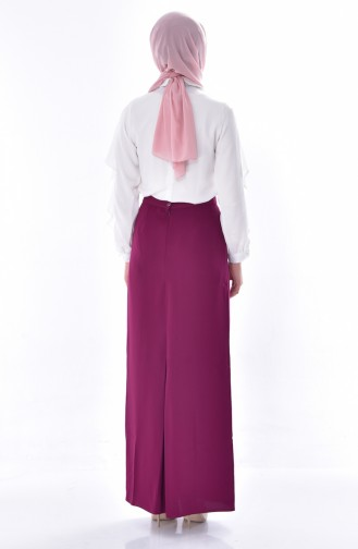 Pencil Skirt 107011-02 Plum 107011-02