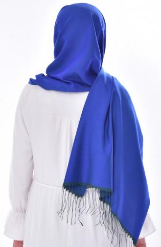 Plain Shawl 901358-16 Dark Blue 16