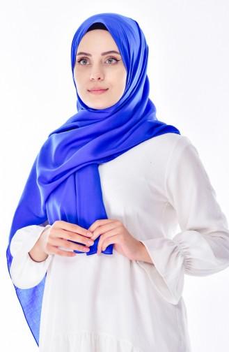 Châle Simple 6775-01 Bleu Roi 6775-01