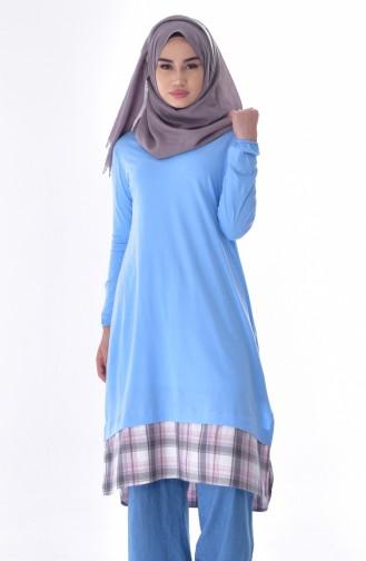 Garnish Tunic 6401-01 Bebe Blue 6401-01