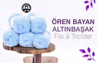 Ören Bayan Altınbaşak Fil à Tricoter
