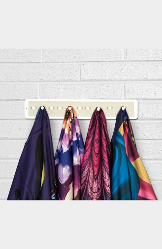 Shawl and Scarf Hanger أبيض 0002