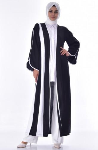 Plain Abaya 3317-03 Black 3317-03