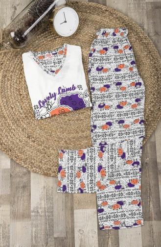 White Pyjama 0023-01